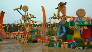 Download [HD] Empty Toy Story Land walk-through at Hong Kong Disneyland 2016 Video