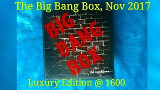 Download The Big Bang Box Nov 2017   Luxury Edition   Unboxing and Review   Video
