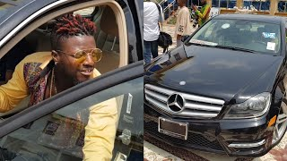 Download WOW - SHATTA WALE BUYS POPE SKINNY BRAND NEW C- CLASS BENZ Video