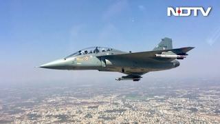 Download Exclusive Tejas Video on NDTV: Vishnu Som Flies On The Fighter Jet | Full Video Video