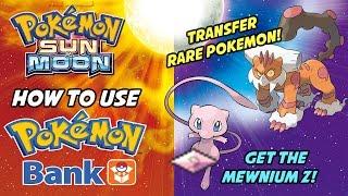 Download Pokemon Sun and Moon POKEMON BANK UPDATE! How to Use Poke Bank to Transfer Rare Pokemon! Video
