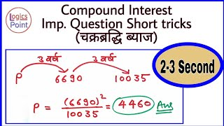 Download Short tricks | Compound Interest most important question | for SSC CGL Video