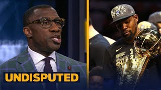 Download Shannon Sharpe reacts to KD's Warriors sweeping LeBron's Cavs in 2018 NBA Finals | NBA | UNDISPUTED Video
