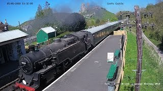 Download Swanage Railway Autumn Steam Gala - Corfe Castle Cam Video