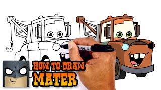 Download How to Draw Mater | Cars 3 Video