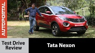 Download Tata Nexon Test Drive Review - Autoportal Video
