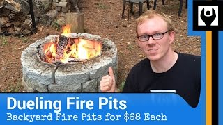 Download Dueling Fire Pits for $68 Each Video