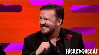 Download Johnny Depp & Ricky Gervais on the Graham Norton show [3/3] Video