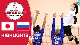 Download JAPAN vs. RUSSIA - Highlights | Men's Volleyball World Cup 2019 Video