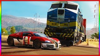 Download Forza Horizon 3 - Bugatti vs Train 4K Video