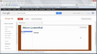 Download Create a Personal Website with Google Sites in Minutes Video
