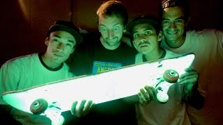 Download A GLOW IN THE DARK SKATEBOARD! | STUPID SKATE EP 75 Video