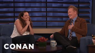 Download Conan Interviews His Assistant Sona Movsesian - CONAN on TBS Video