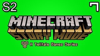 Download Minecraft Story Mode Let's Play: S2E2 Part 3 - ADMIN SHOWDOWN Video