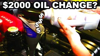Download The Mythical Ferrari Oil Change Video