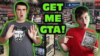 Download Kids At GameStop Wanted Grand Theft Auto V Skit Video