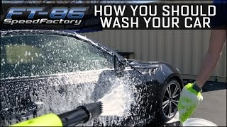 Download How you should wash your car - Foam Gun & 2 Bucket Method Video