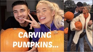 Download CARVING PUMPKINS WITH TOMMY.... Video