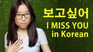 Download How to say I MISS YOU in Korean (KWOW #201) Video