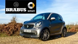 Download 2017 Smart Brabus ForTwo Review - Inside Lane Video