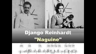 Download Django Reinhardt - ″Naguine″ - 1939 (G Blues) - Virtual Guitar Transcription by by Gilles Rea Video