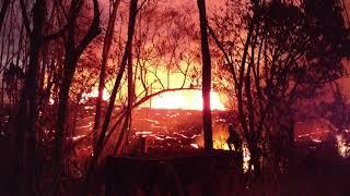 Download Leilani Estates Hawaii Lava Flow Fissure 5 Kahukai 5/22/2018 Part 5 Video