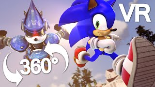 Download Sonic Animation - SONIC THE HEDGEHOG BATTLE 360° VR- SFM Animation (Sonic Animation) Video