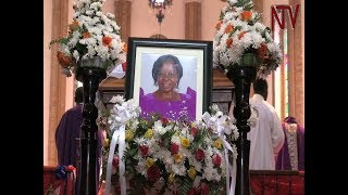 Download Maria Mutagamba remembered as a hardworking leader Video