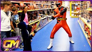 Download Power Rangers Ninja Steel - Kids Parody with Toys! Video
