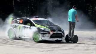 Download Ken Block Gymkhana III (Ford Fiesta '11, 650 hp) Video