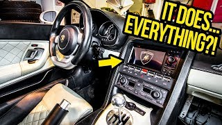 Download My Cheap Lamborghini Gets A Crazy Cheap Radio (And It's AWESOME?!) Video