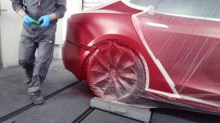 Download Tesla Model S 100D (pearl red with tinted clear) Video
