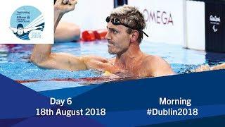 Download Day 6 Morning | 2018 World Para Swimming Allianz European Championships Video