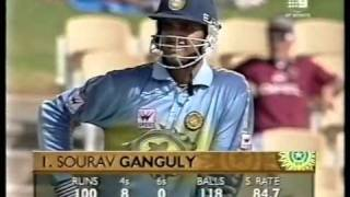 Download Sourav Ganguly 141 vs Pakistan Adelaide 1999/00 Video