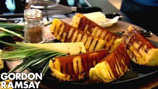 Download Griddled Pineapple with Spiced Caramel - Gordon Ramsay Video