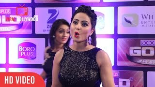 Download Gorgeous Hina Khan at Zee Gold Awards | Bigg Boss 11 Hina Khan | VIralbollywood Video