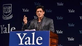 Download Shah Rukh Khan at Yale University as Chubb Fellow Video