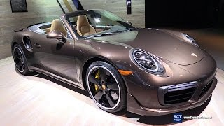 Download 2017 Porsche 911 Turbo S Exclusive Edition - Exterior and Interior Walkaround - 2016 LA Auto Show Video
