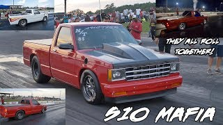 Download THEY HAVE SO MANY S10s!! S10 INVASION AT SMALL TIRE RUMBLE! AND THEY'RE SUPER FAST! Video