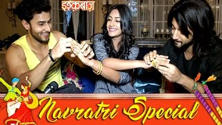 Download NAVRATRI SPECIAL : Anika Dressed Up By Omkara & Rudra | Ishqbaaz Video