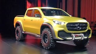 Download ► Mercedes X-CLASS Pickup Concept WORLD PREMIERE Video