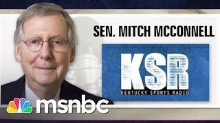 Download Mitch McConnell's Angry Radio Interview   Morning Joe   MSNBC Video