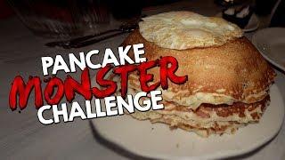 Download PANCAKE MONSTER CHALLENGE IN CALIFORNIA!! Video