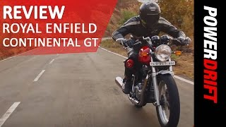 Download Royal Enfield Continental GT : Review : PowerDrift Video
