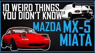 Download 10 THINGS YOU DIDN'T KNOW ABOUT THE MX-5 MIATA Video
