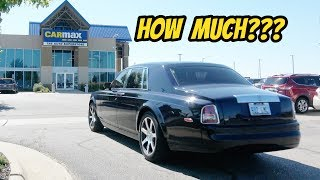 Download I Took the Cheapest Rolls-Royce Phantom to Carmax for an Appraisal: 1 Year Ownership Report! Video