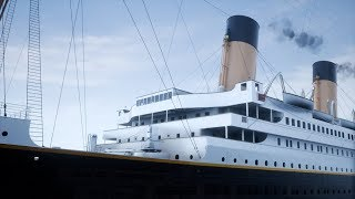 Download Unreal Engine 4 - The Titanic At Unbelievable Full Scale!! - New 2018/2019 game! (1440p 60fps) Video