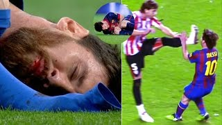 Download Players Hunting on Lionel Messi ● Horror Tackles ● Brutal Fouls | HD Video