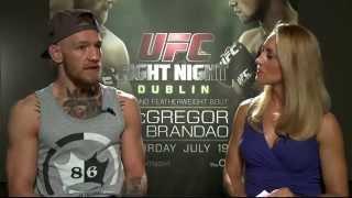 Download Fight Night Dublin: Conor McGregor Pre-fight Interview Video