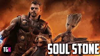 Download Thor, Groot, And Rocket Team Up In Avengers Infinity War - Soul Stone & Thor's New Weapon Video
